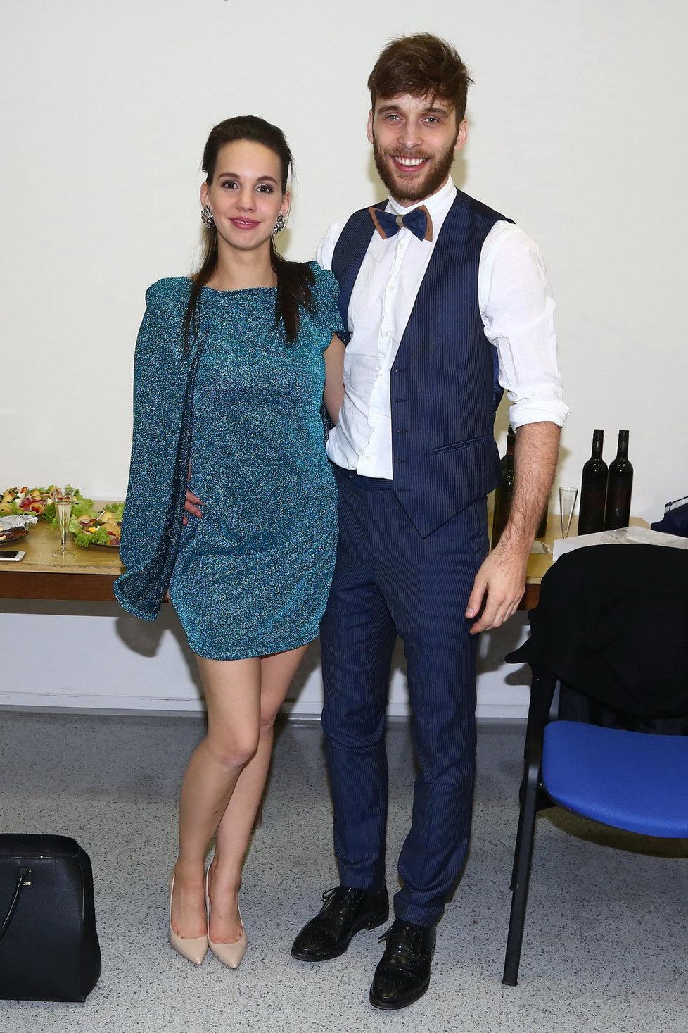 Michaela Doubravová Tomešová se svým manželem Romanem Tomešem.