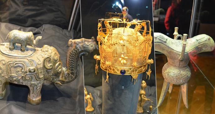 Unikátní výstava tři tisíce let starých kultovních předmětů z Číny vystaví v Ostravském muzeu.