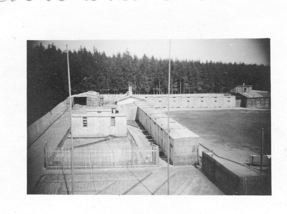 Romský koncentrační tábor v Letech u Písku
