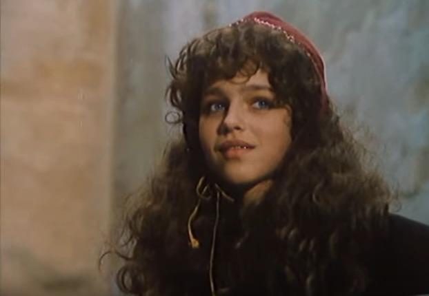 Lucie Zedníčková v pohádce Třetí princ. Nadabovala ji ale Libuše Šafránková.
