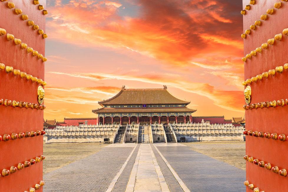Zakázané město v Číně
