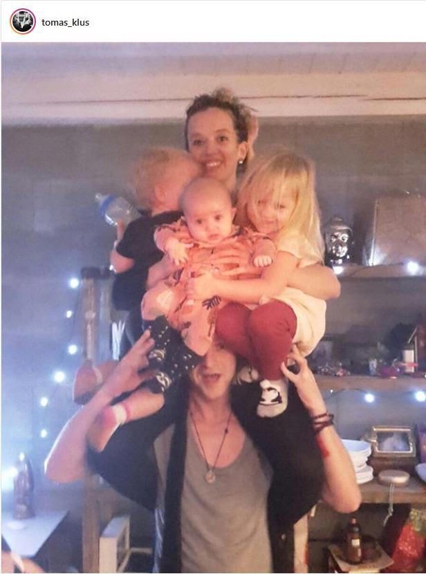 Tomáš Klus si vytvořil vlastní stromek z rodiny.