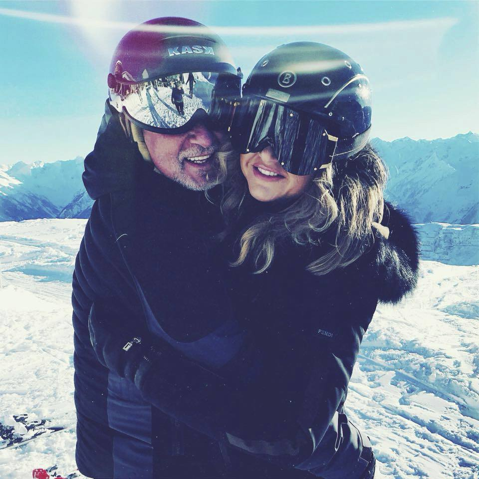 Andrej Babiš vyvezl manželku Moniku na Silvestra tradičně na dovolenou do rakouských Alp.
