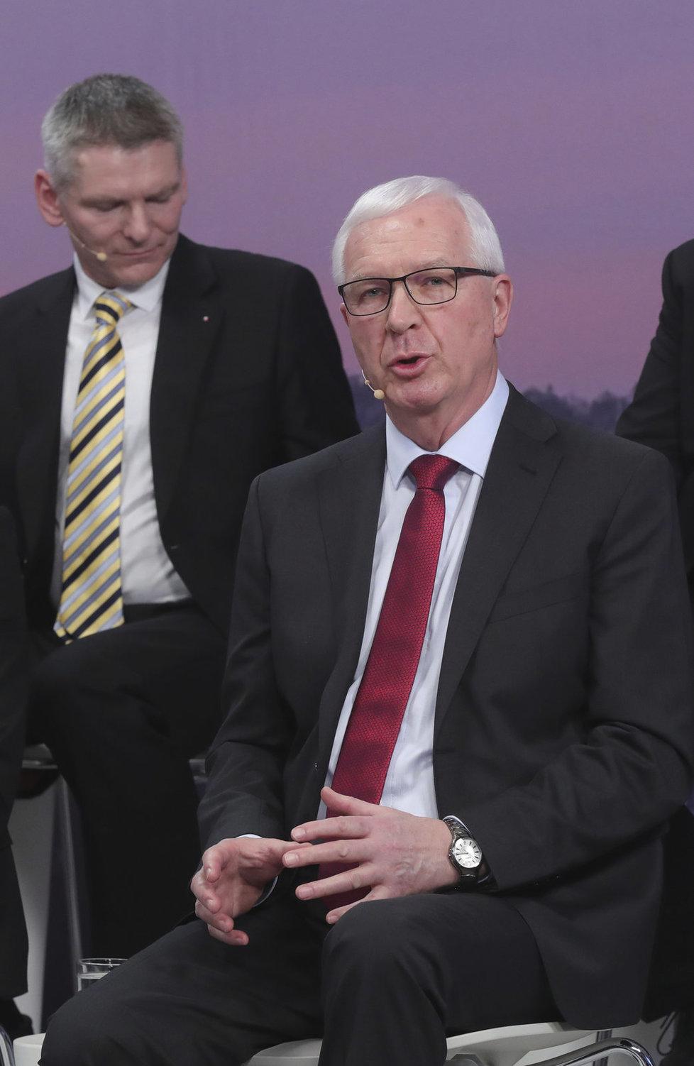 Superdebata prezidentských kandidátů: Jiří Drahoš