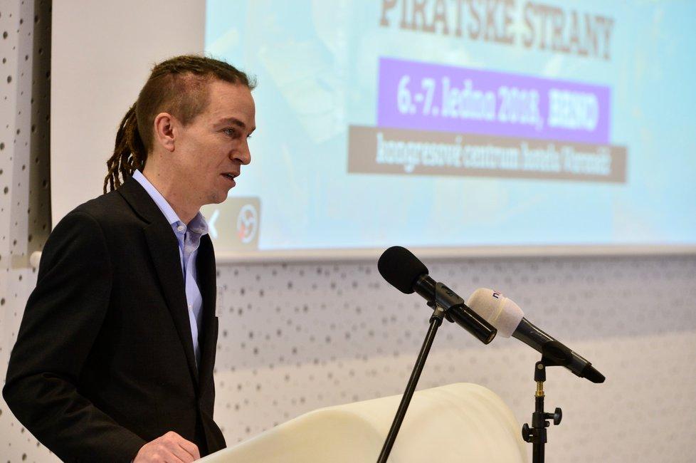 Kandidátský projev Ivana Bartoše