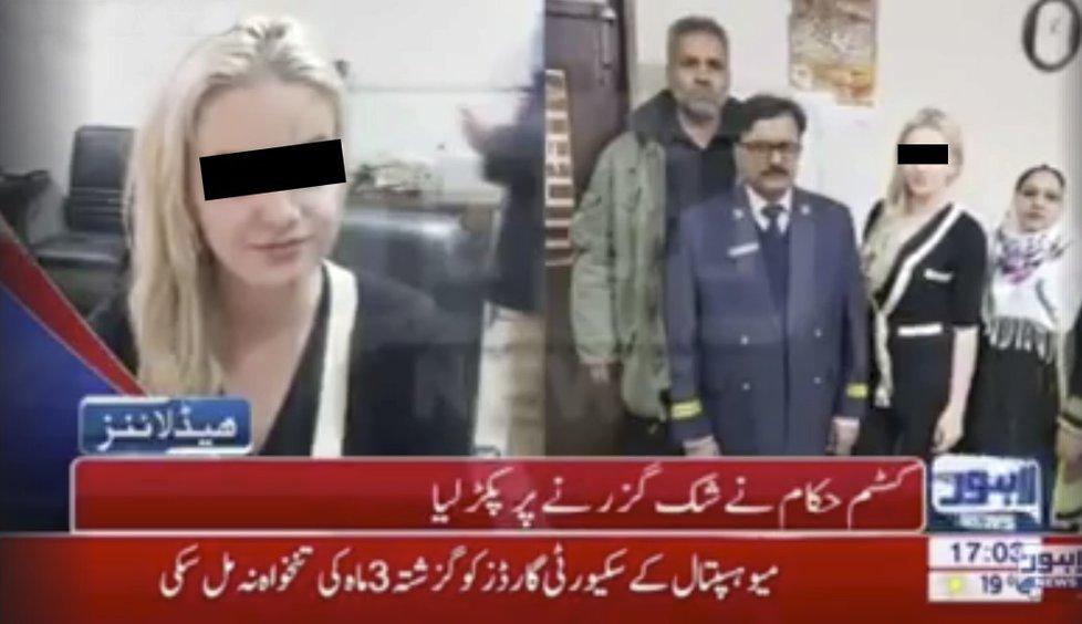 Terezu zadrželi v Pakistánu s 9 kily heroinu.