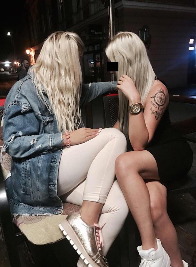 Tereza (21) si se svou kamarádkou Simonou užívaly luxusu.