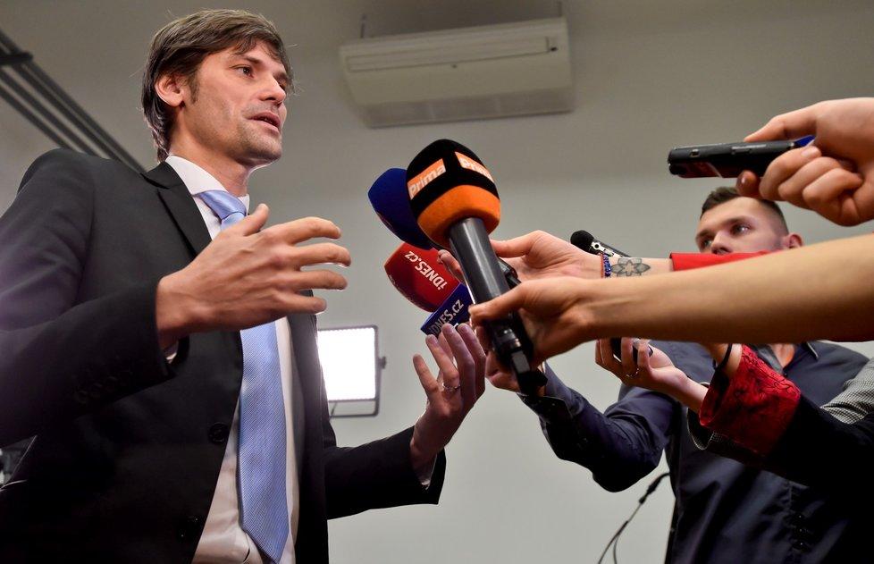 Marek Hilšer vyjádřil své spokojení s tím, že proběhne i druhé kolo prezidentských voleb