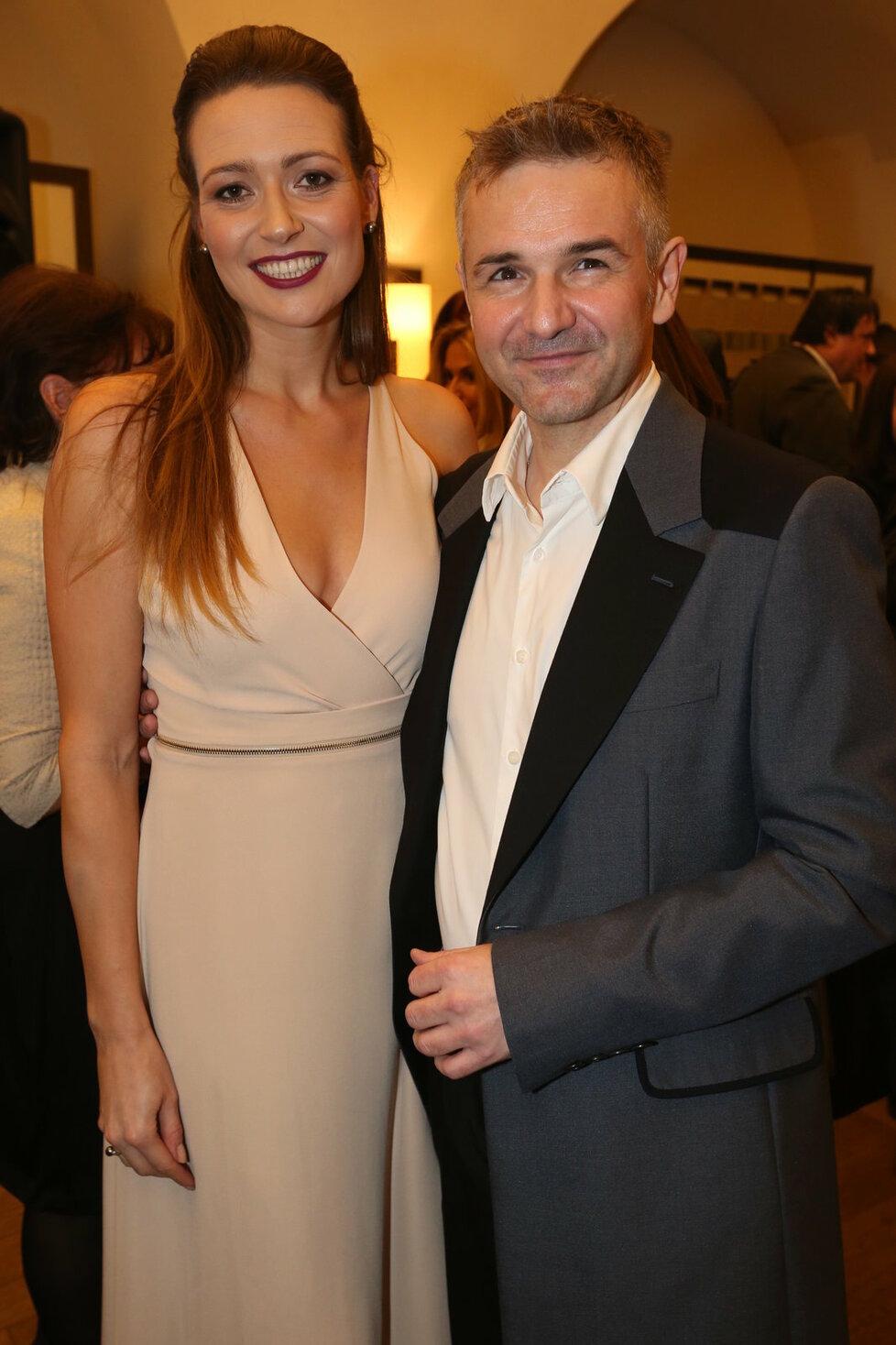 Majitelé České Miss Eva Čerešňáková s Martinem Ditmarem