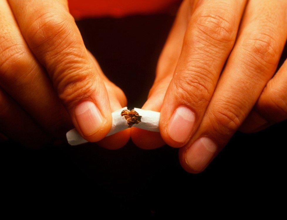 Pokud přestanete kouřit, ulevíte zdraví i peněžence.