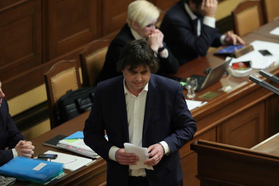 """Miloslav Rozner """"zabrousil"""" i v projevu k vydání či nevydání Babiše s Faltýnkem."""