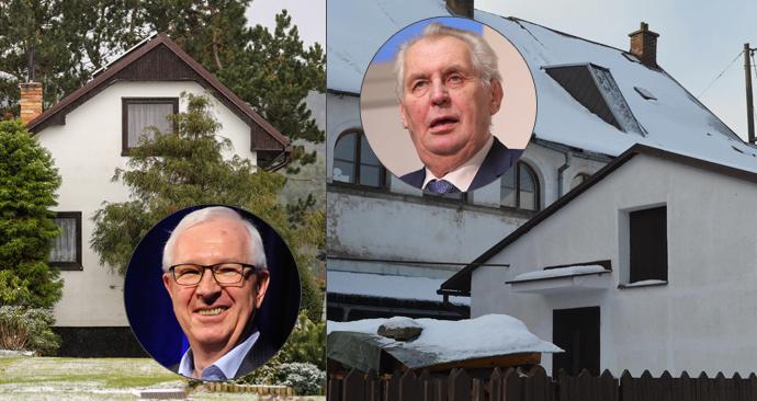 O Jiřím Drahošovi a Miloši Zemanovi promluvili jejich sousedé z jejich chat, kam kandidáti jezdí