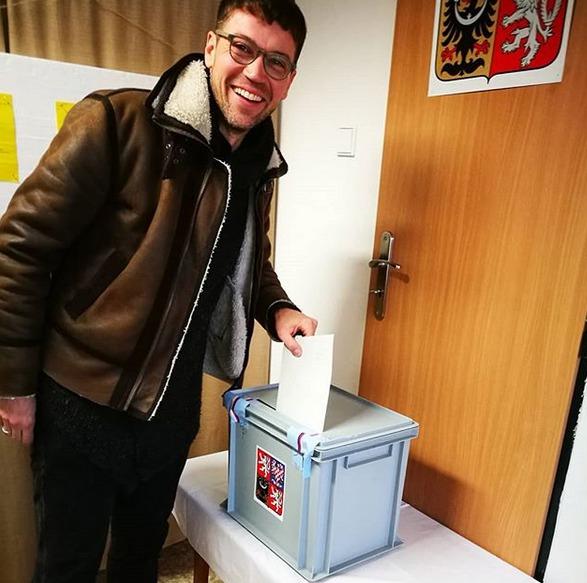 Lukáš Hejlík u voleb