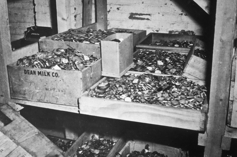 Část nacistického pokladu