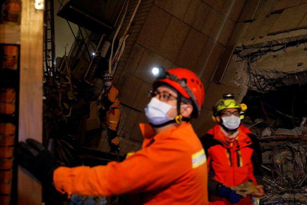 Zemětřesení na Tchaj-wanu