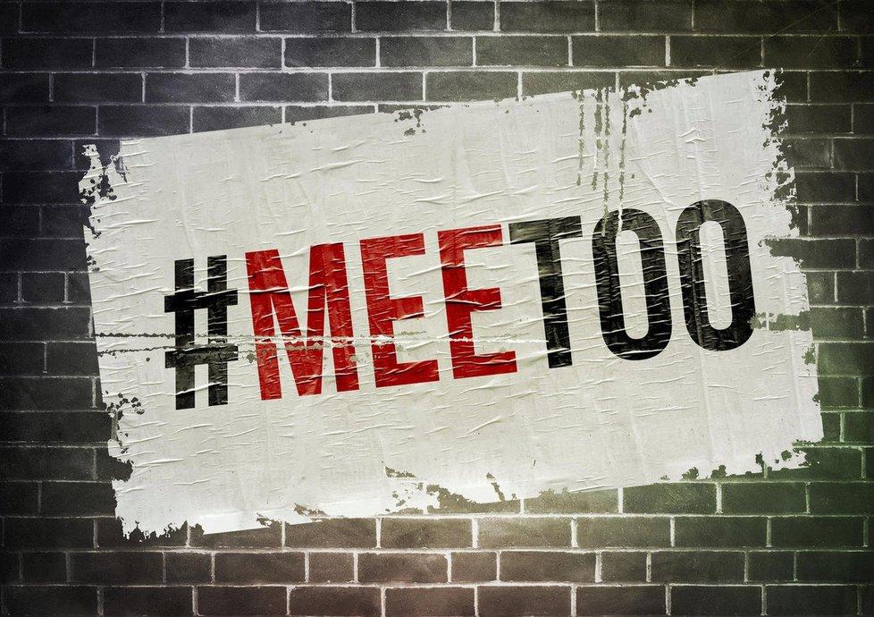 Ilustrační foto: Plakát MeToo.
