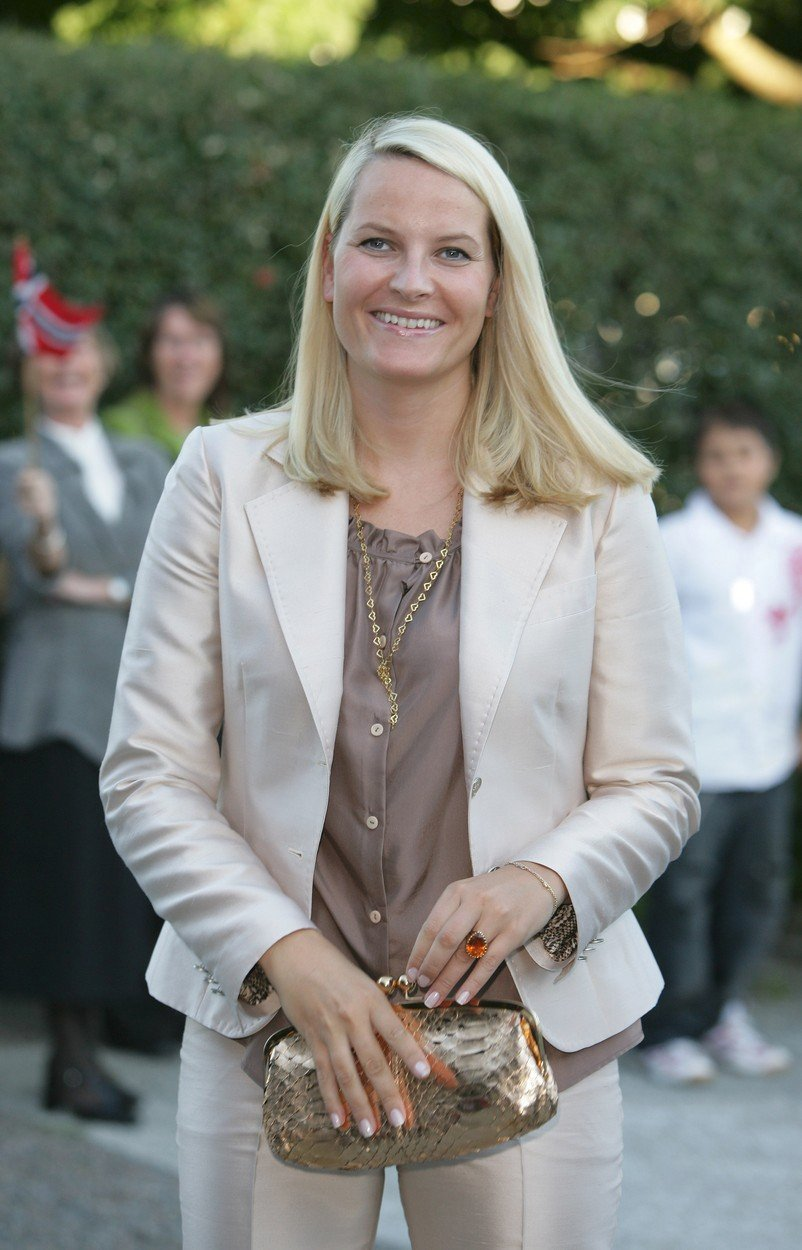 I když je princezna, žije i obyčejný život norské matky.