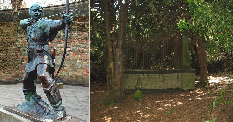 Hrobu legendárního zbojníka Robina Hooda hrozí zánik.