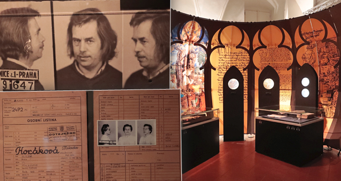 Na Pražském hradě začala výstava s názvem Labyrintem dějin českých zemí.