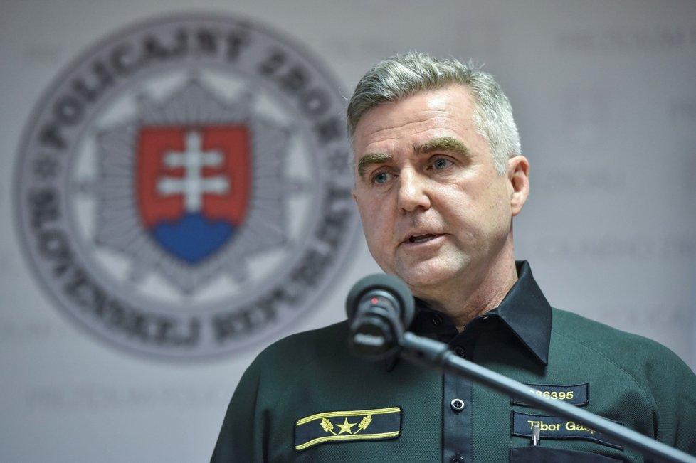 Policejní prezident SR Tibor Gašpar