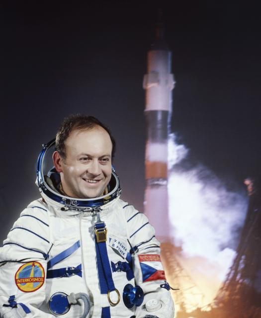 Jediný československý kosmonaut Vladimír Remek.