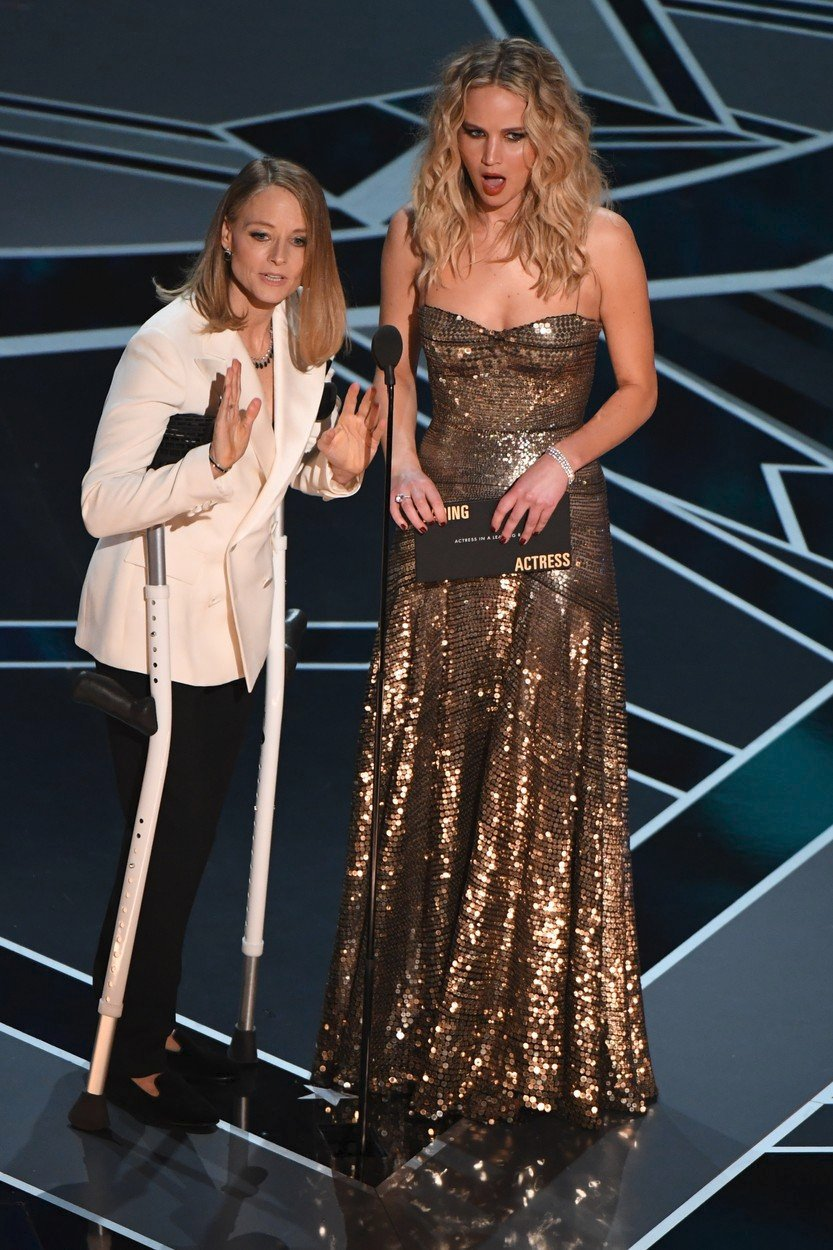 Jodie Foster a Jennifer Lawrence