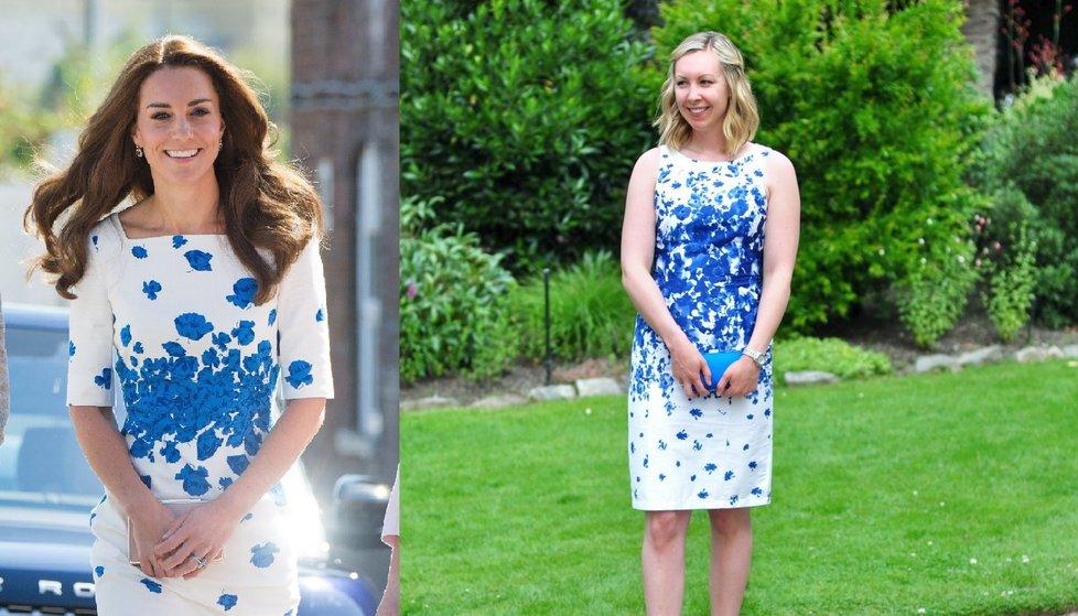 Blogerka napodobuje outfity vévodkyně Kate.