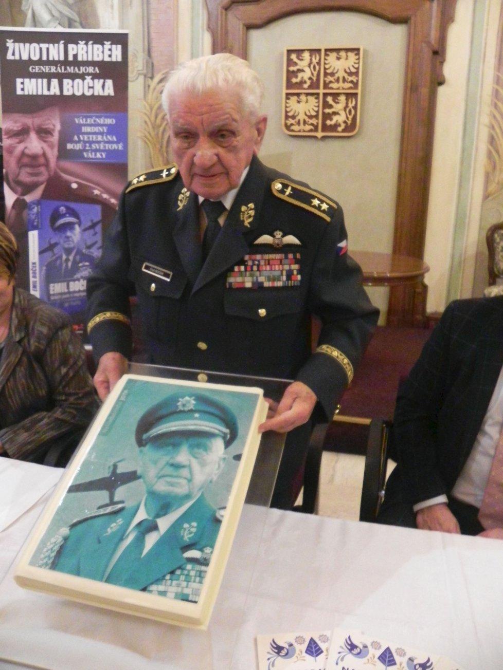 Emil Boček - Řád Bílého lva vojenské skupiny I. třídy