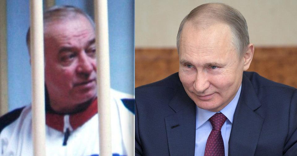 Stojí za pokusem o vraždu exšpiona Skripala ruský prezident Putin?