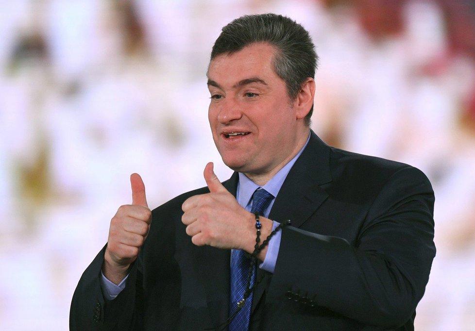Ruský poslanec Leonid Slucký byl obviněný ze sexuálního obtěžování.