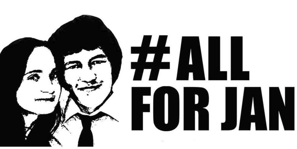 Heslo #AllForJan (Všichni za Jána)