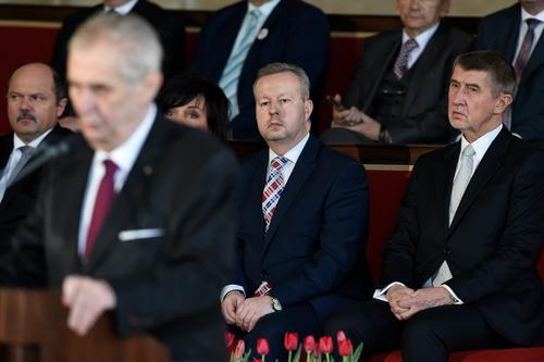 Inaugurace Miloše Zemana (8. 3. 2018)