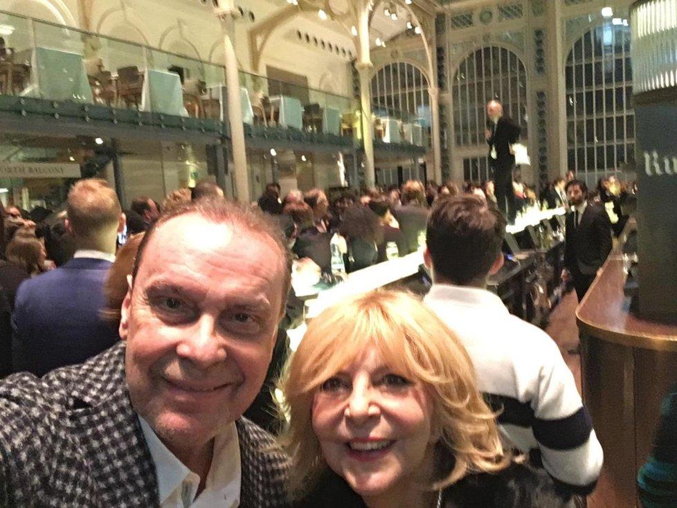 Hana Zagorová s Margitou v Londýně