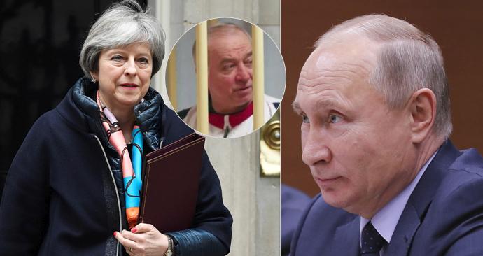 Mayová oznámila, že Británie v reakci na Skripalův případ a mlčení Ruska vypoví 23 jejich diplomatů.