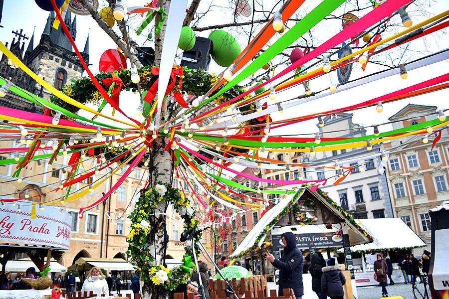 Velikonoční trhy na Staroměstském náměstí 2018