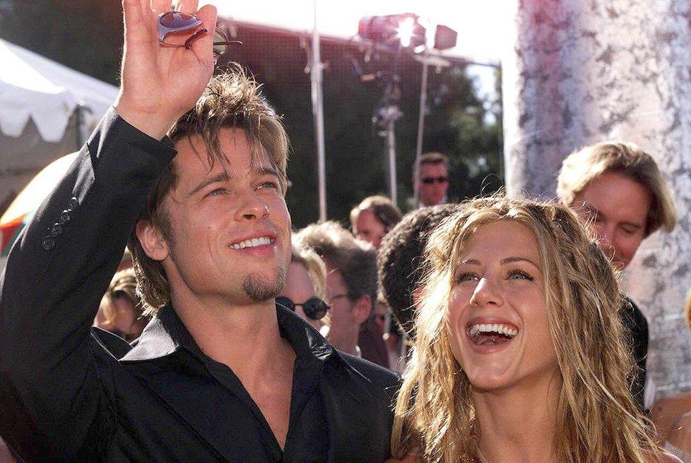 Brad a Jennifer v roce 1999.