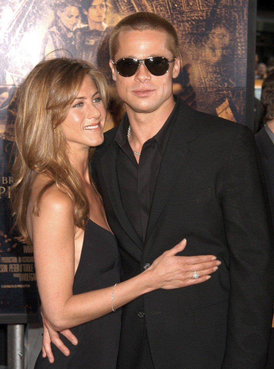 Brad a Jennifer v roce