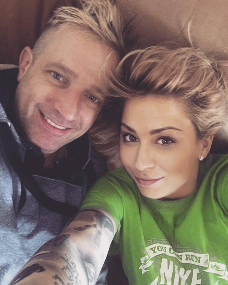 Martin Kocián s partnerkou