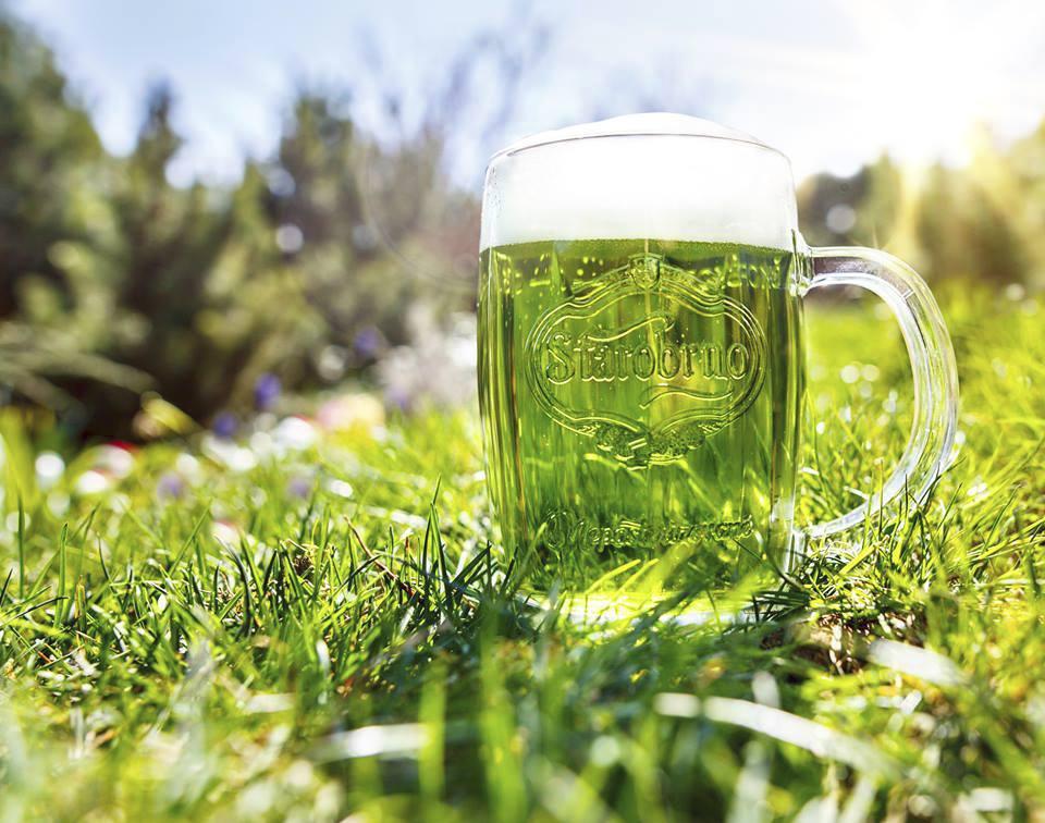 Starobrno i pro letošek přichystalo zelené pivo.