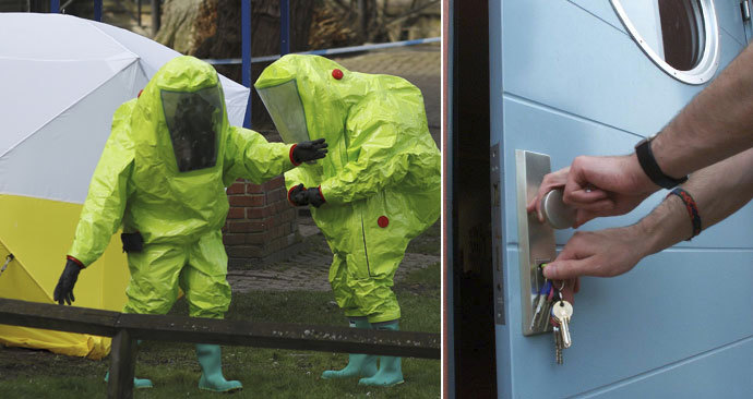 Ruští agenti dokáží člověka otrávit i pouhým madlem u dveří.
