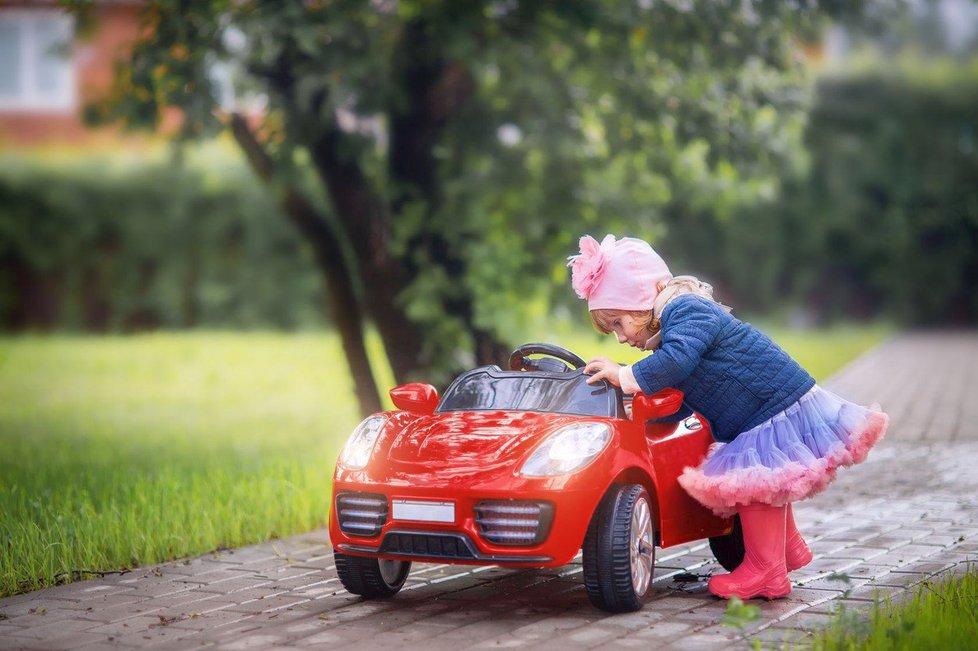 Dětská autíčka povinné ručení nepotřebují.