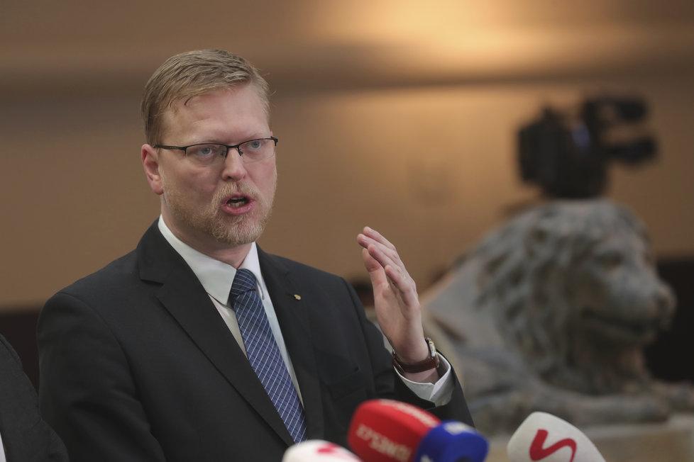 Šéf KDU-ČSL Pavel Bělobrádek