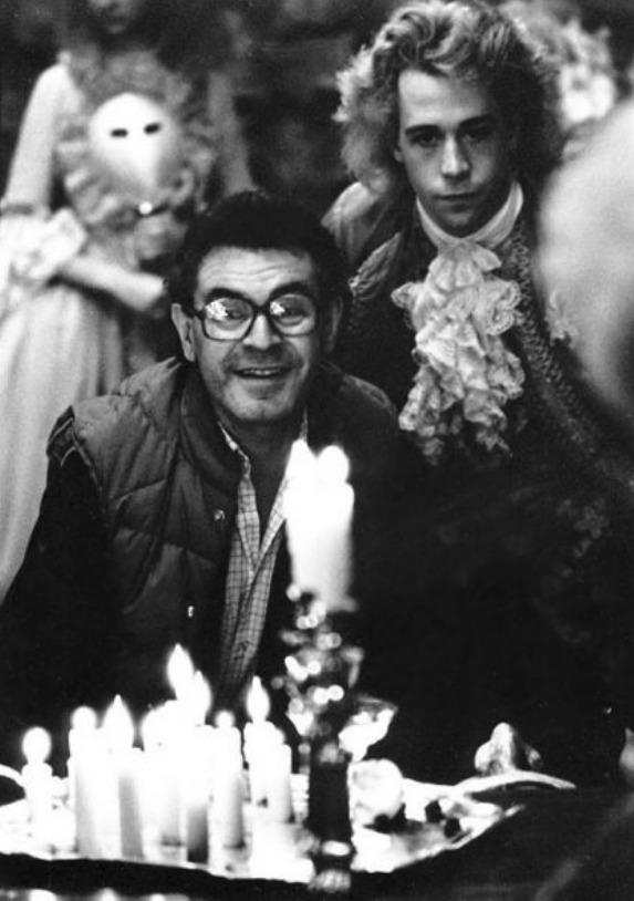 Unikátní soukromé snímky Miloše Formana z natáčení oscarového filmu Amadeus.