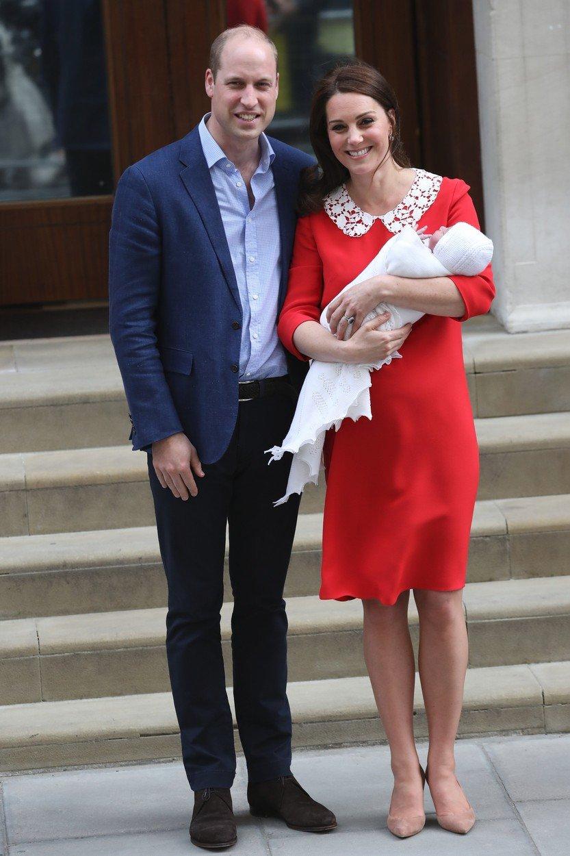 William, Kate a jejich třetí potomek