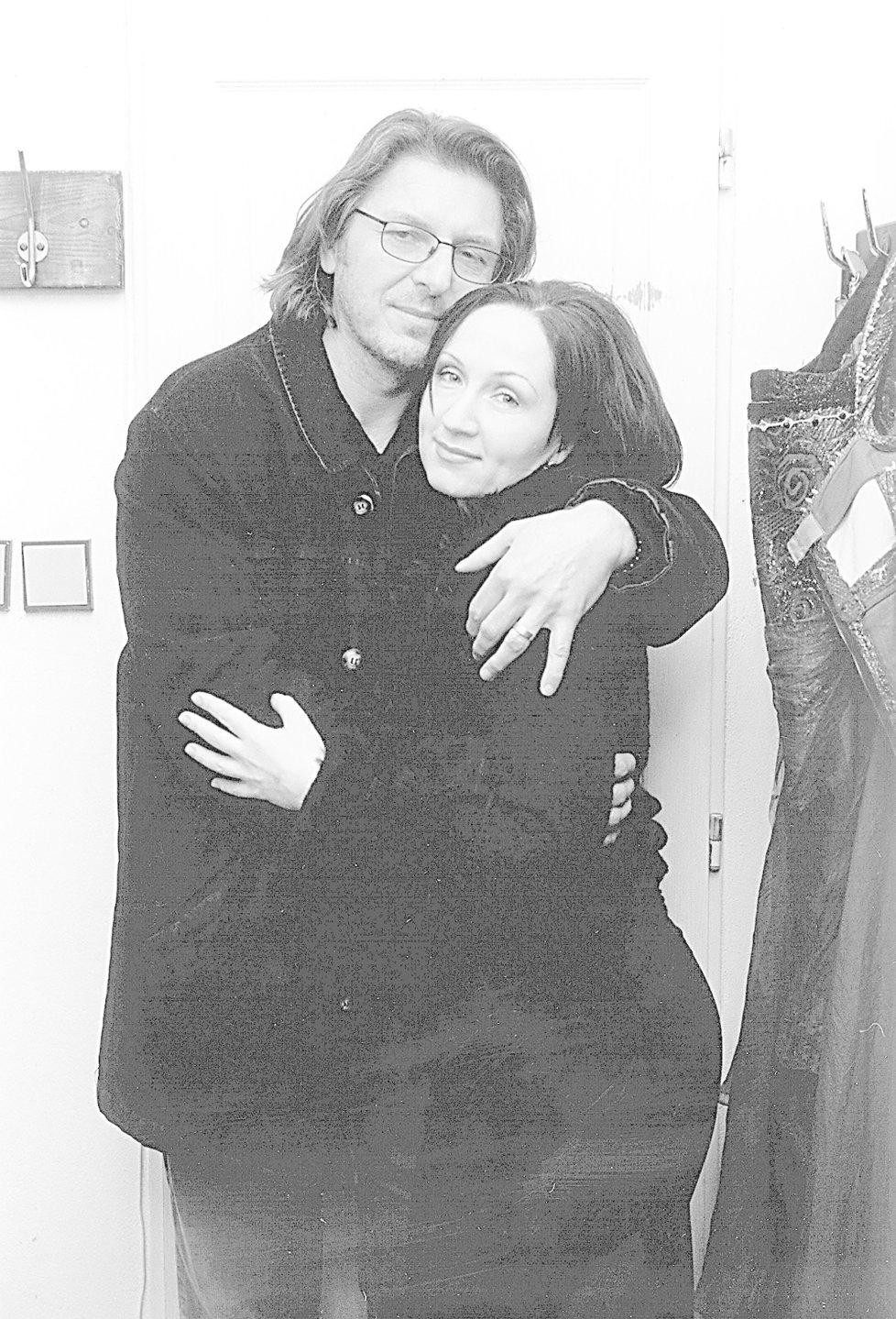 Bára Basiková s druhým manželem Jaromírem Pizingerem