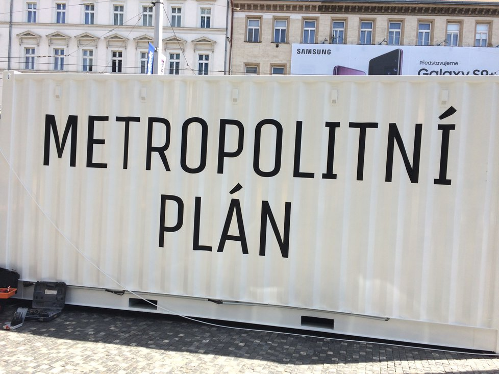 Plány pro rozvoj území Prahy