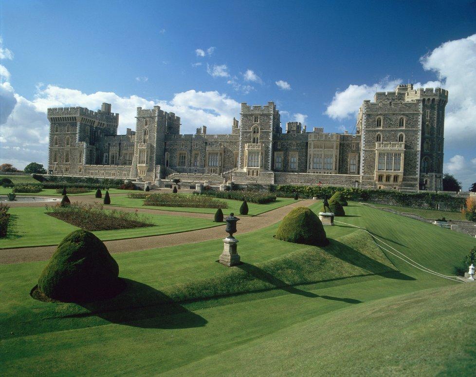 Zámek Windsor netradičním pohledem