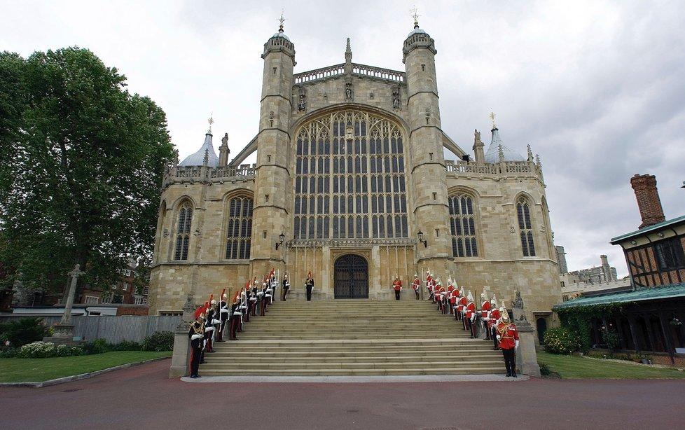 Hrad Windsor otevře brány pro pozvané zástupce veřejnosti.