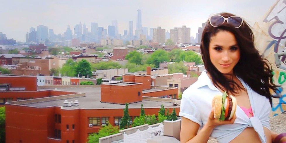 Meghan Markle v sexy videu