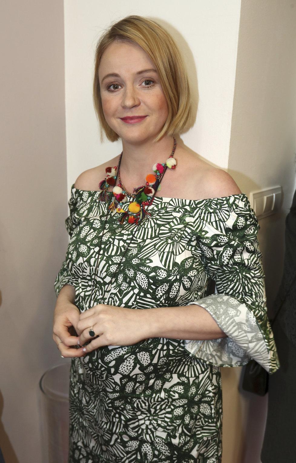 Těhotná Marie Doležalová